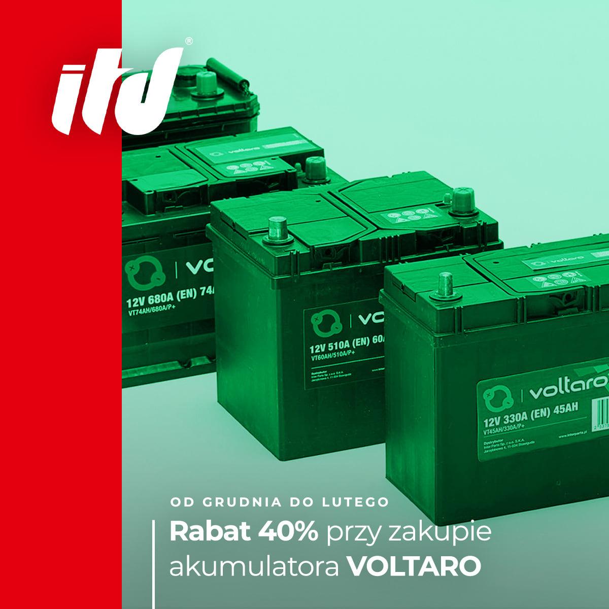 Zimowa Promocja Akumulatorów VOLTARO !